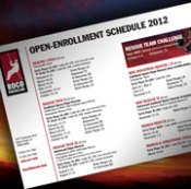 Roco Open Enrollment 2012 Course Schedule